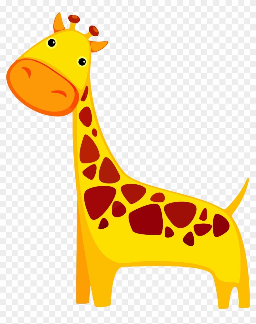Giraffe Clipart - Giraffe Cartoon #19717