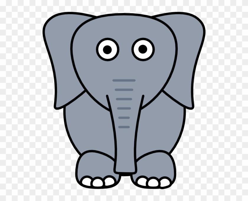 Gray - Gray Elephant #19733