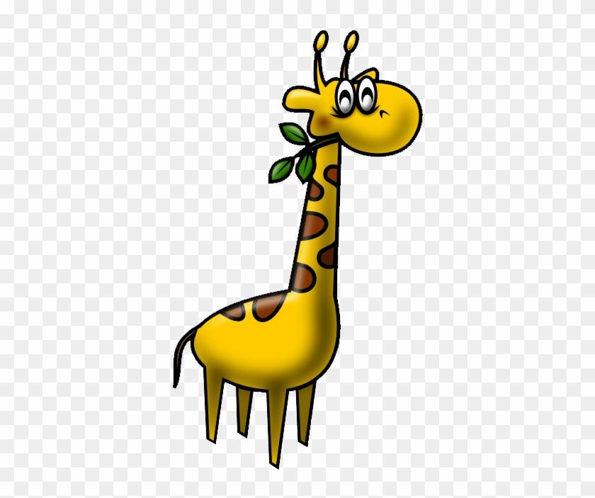 Giraffe Clip Art - Alphabet #19751