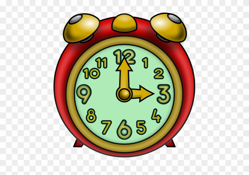 Clock Free To Use Clip Art - Three O Clock Clipart #19756