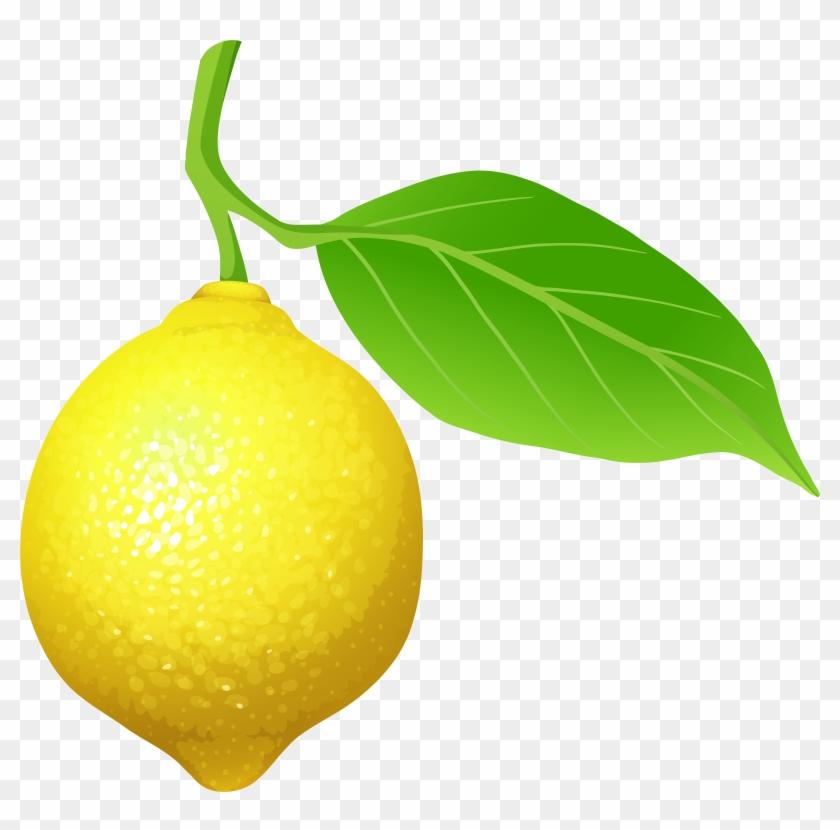Lemon Clipart #19778