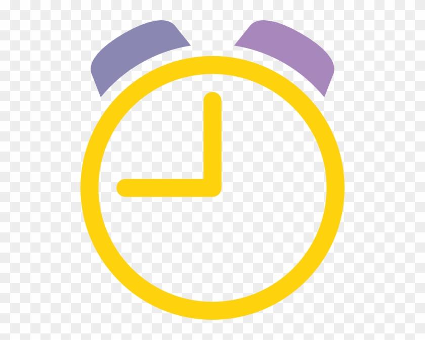 Clock Alarm Clip Art - Alarm Clock Png Yellow #19790
