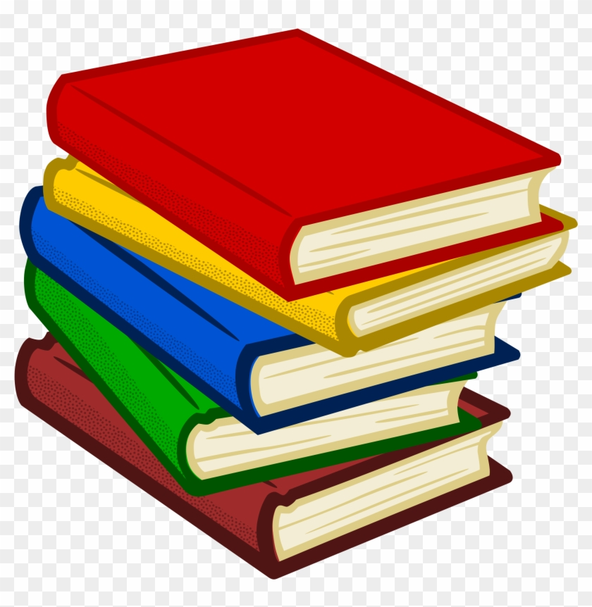 Books For Clip Art - Books Clipart Png #19807