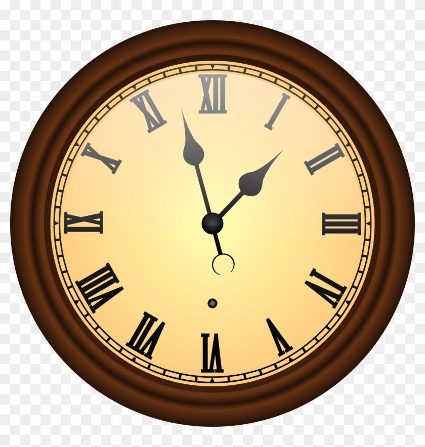 Big Clock Cliparts - Old Clock Png #19812