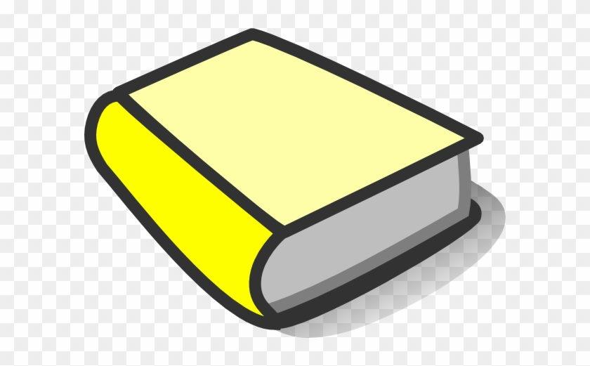 Yellow Book Clipart - Yellow Book Clipart #19836