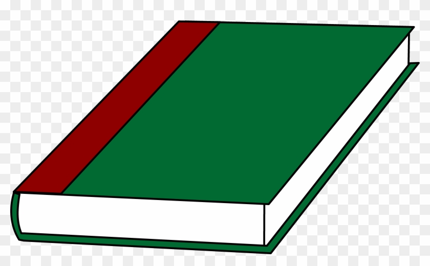 A Book With A Green Cover Free Clip Art - Cartoon Pictures Of Book #19861