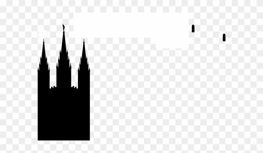 Lds Temple Clip Art At Clker Com Vector Clip Art Online - Salt Lake Temple Silhouette #19857