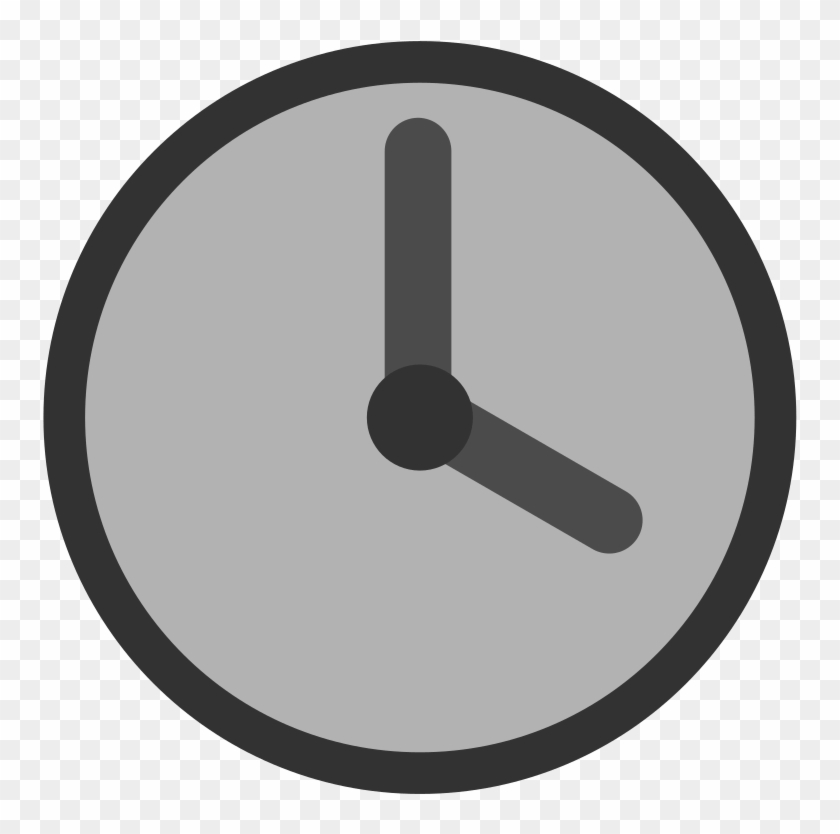 Clock Clip Art At Clker - Gambar Jam Vektor #19884