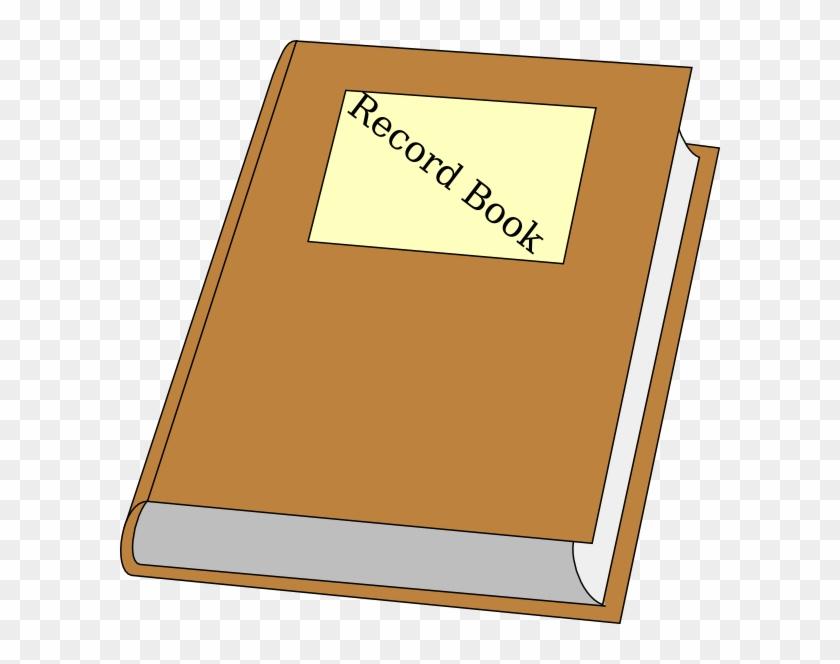 Record Book Clip Art At Clker Com Vector Online Clipart - Record Book Clip Art #19889
