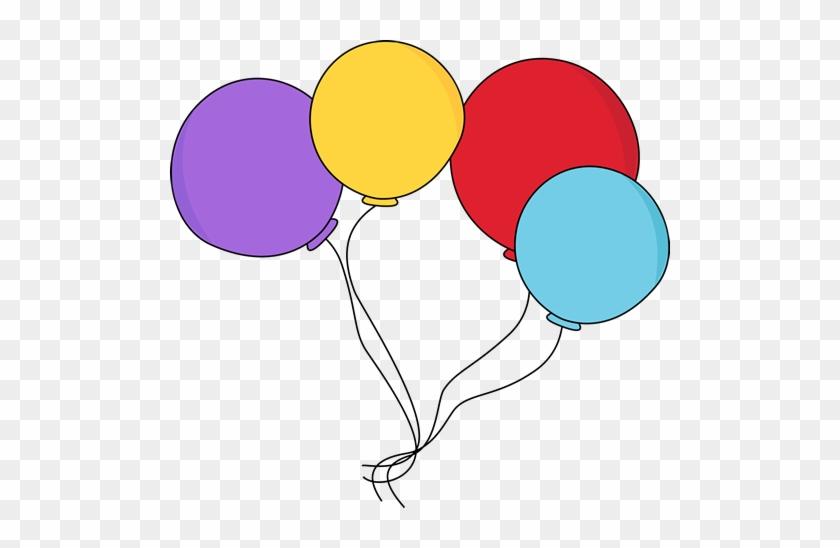 Colorful Balloons - Balloon Clipart #19890