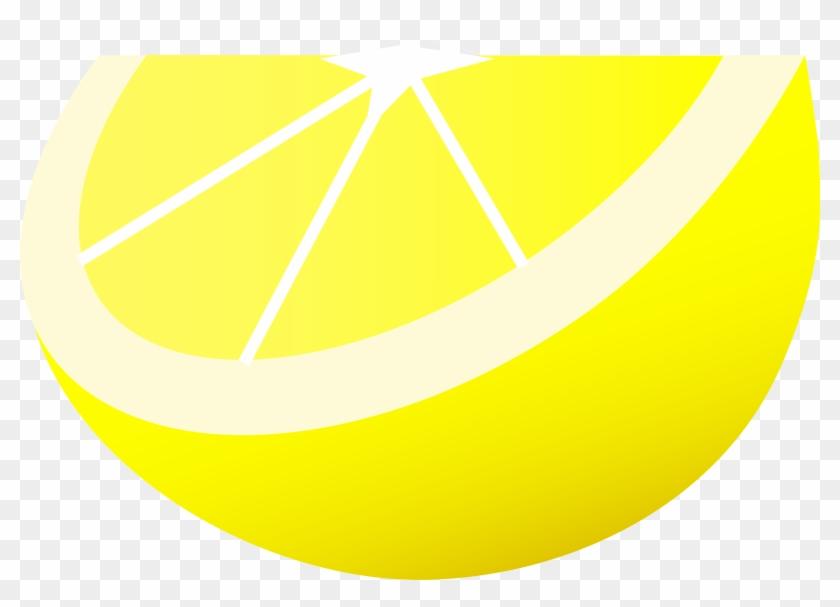 Lemon Clip Art - Circle #19897