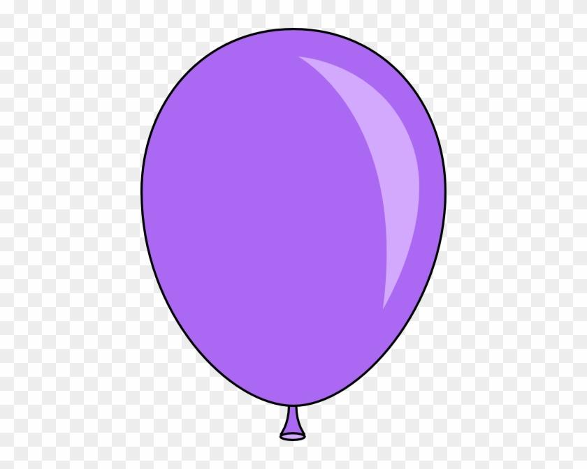 Purple Balloon Clipart #19896