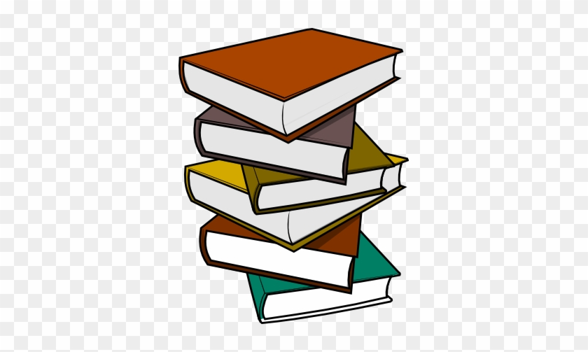 Book Clip Art - Pile Of Book Clipart #19904