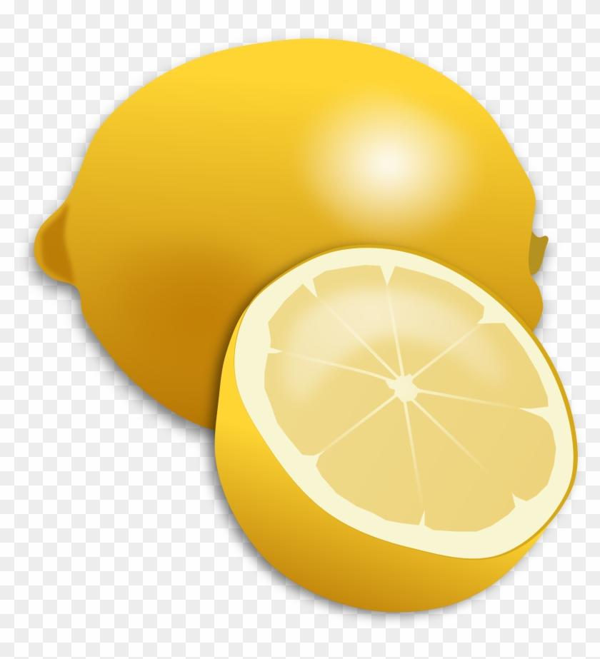 Clipart Lemon - Lemon Fruit Clipart #19917