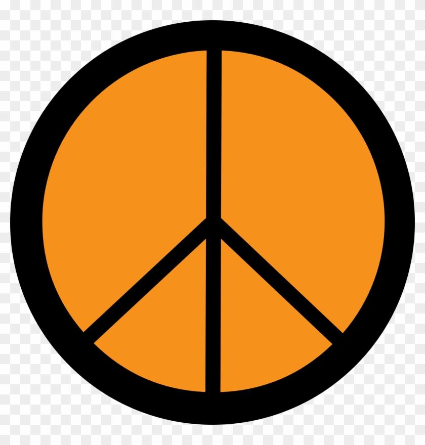 Peace Sign Art Clipart Image - Symbols For Cesar Chavez #19923