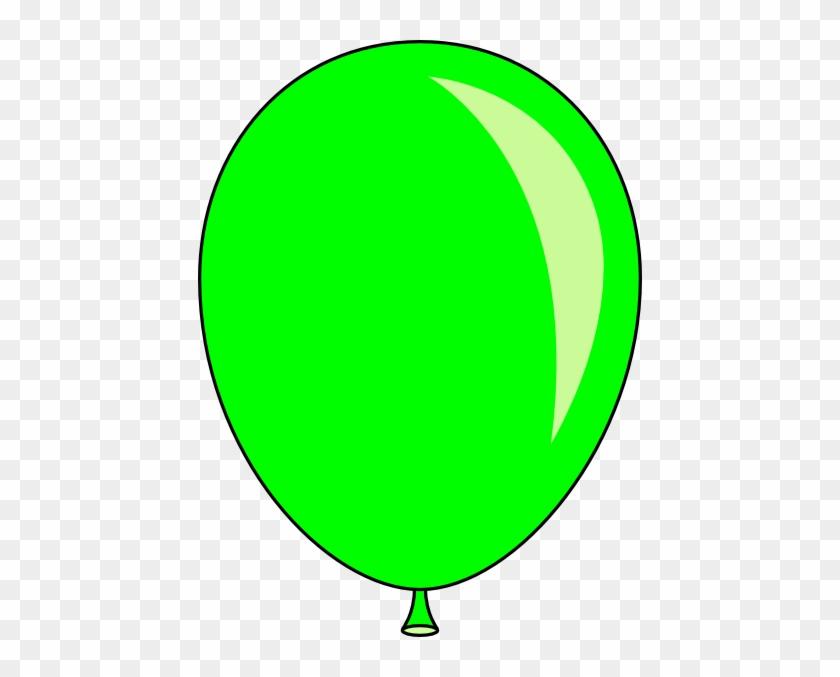 Clipart Info - Green Balloon Clip Art #19947