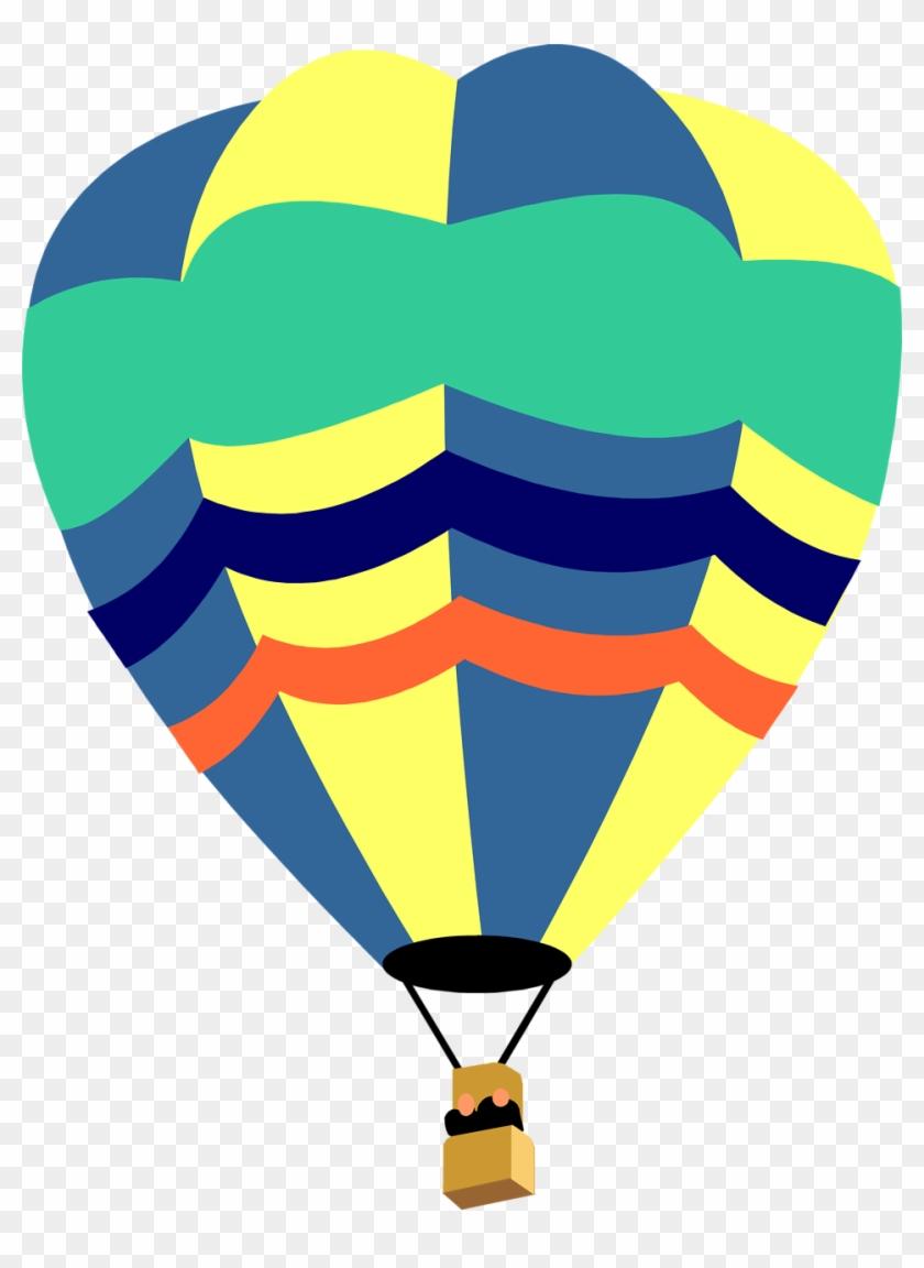 Fancy Balloons Cliparts - Hot Air Balloon Clipart #19949