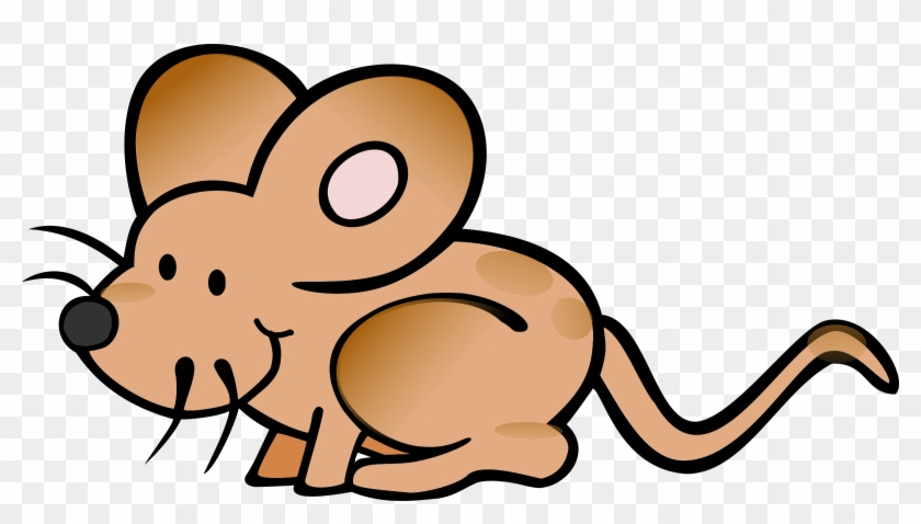 Mice Clipart Small Mouse - Mouse Coloring Page #19984