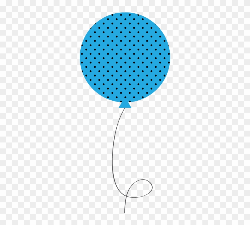 Gallery For > Blue Birthday Balloons Png - Striped Balloon Clip Art #20005