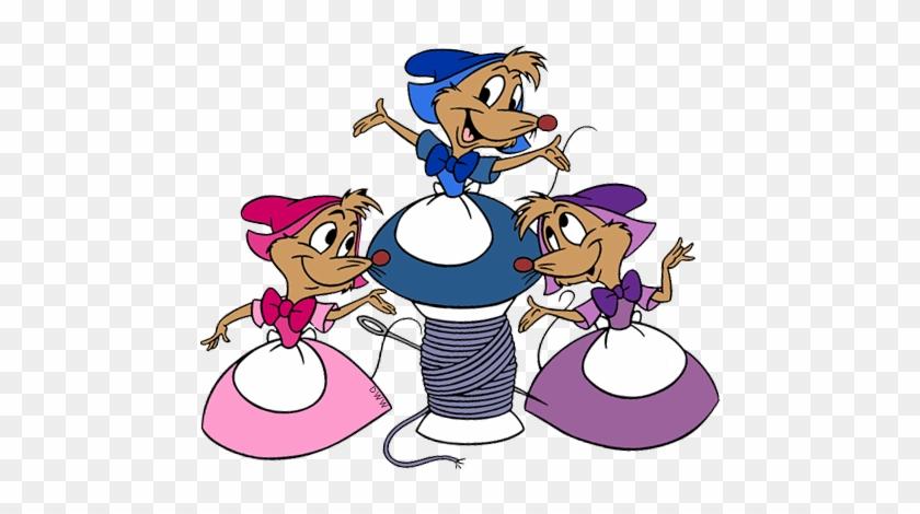 Mice Clipart Cinderella Mice - Cinderella Mice Clip Art #20016