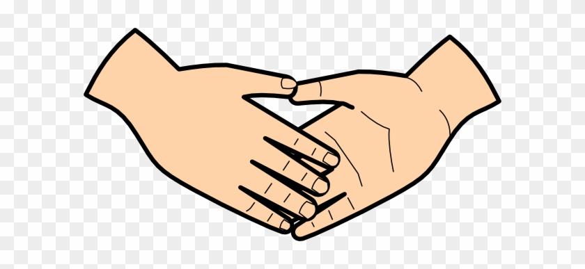 Fashionable Handshake Clipart Clip Art At Clker Com - Shaking Hands Clip Art #20041