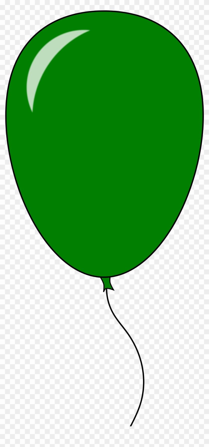 Balloon - Green Balloon Clip Art #20053