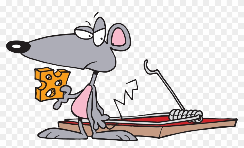 Mousetrap Trapping Clip Art - Mouse Trap Game Clipart #20058