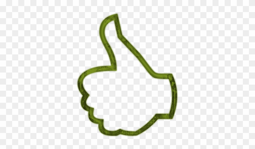 Thumbs Up Thumb Clip Art Clipart 2 - Simple Thumbs Up Drawing #20077