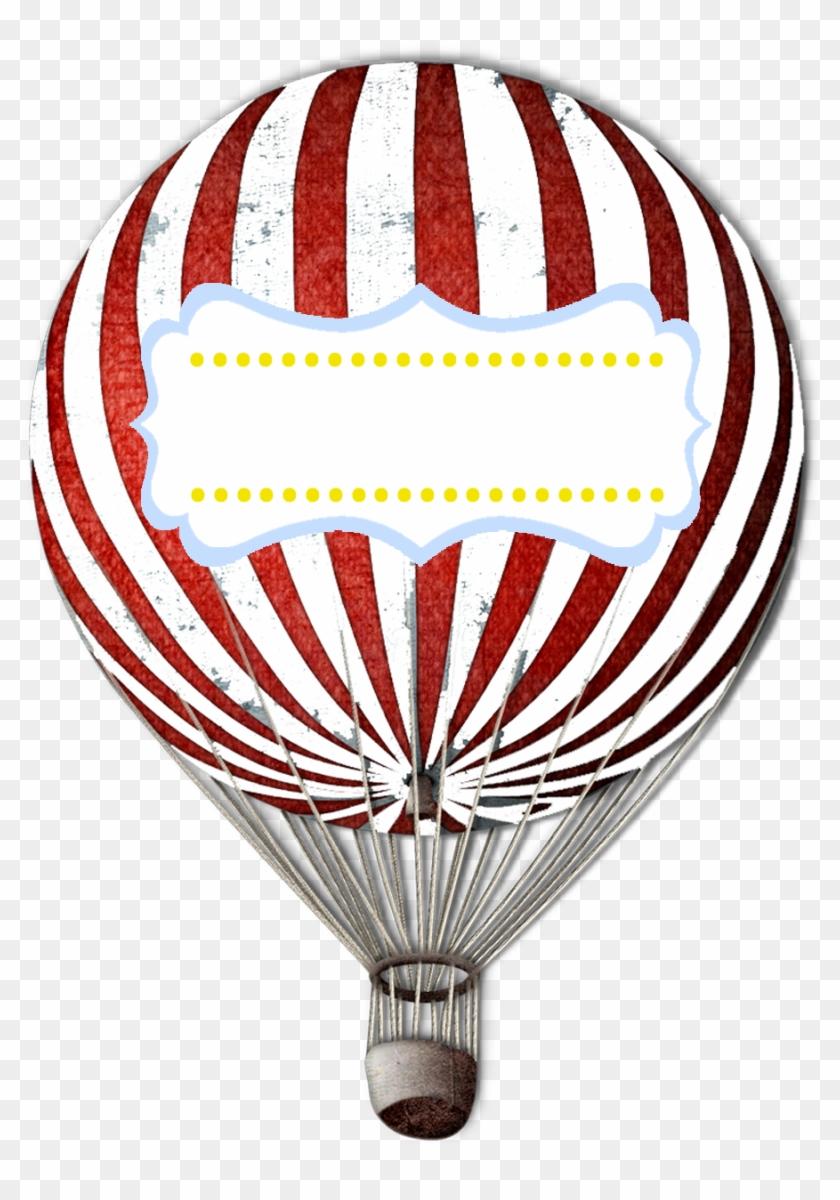 Vintage Hot Air Balloon Clipart - Skate Completo Iron Profissional Ballon Street Branco #20087