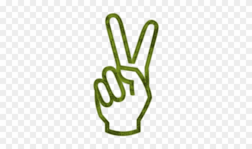 Hand Peace Sign Clipart Kid Peace Symbol V Sign Free Transparent