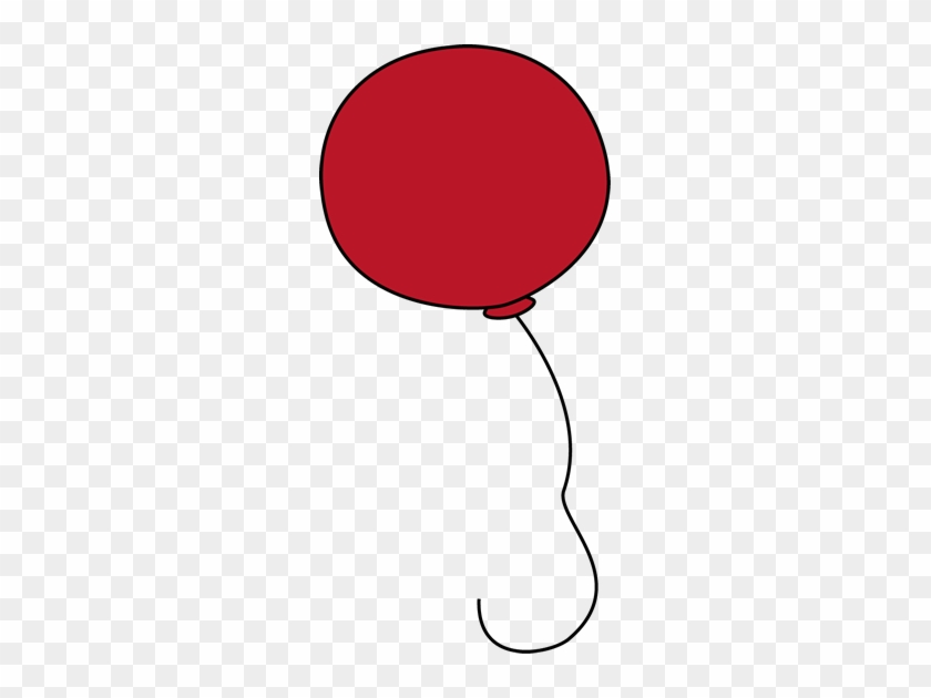 Balloon For Letter B - Free Clip Art Red Balloon #20104