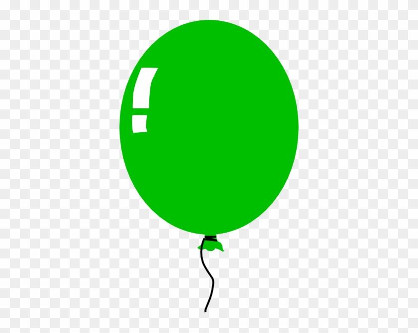 Clipart Info - Green Balloon Clipart #20138