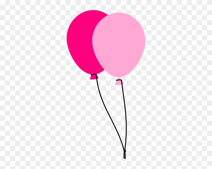 Balloon Clip Art Pink #20184