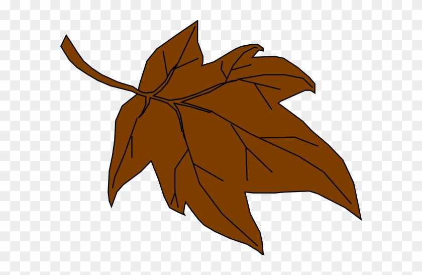 Leaves Clipart Brown Leaf - Fall Leaves Clip Art #20226