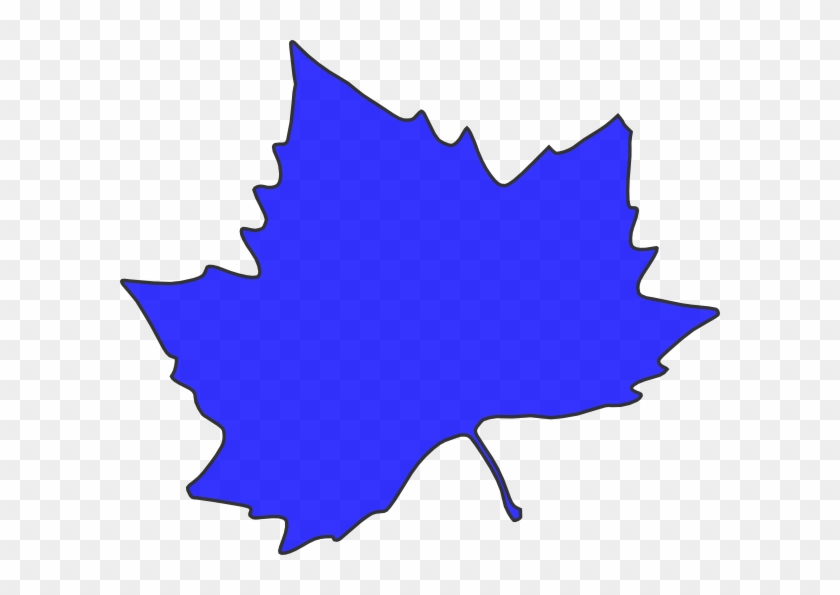 Leaf Outline Clip Art At Clker - Autumn Leaves Clip Art #20229