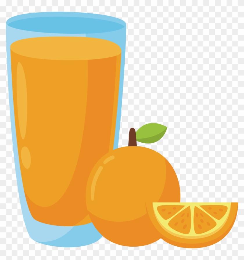 Clip Art Of Orange Juice In Carton, Clipart Of Orange - Clip Art Orange Juice #20245