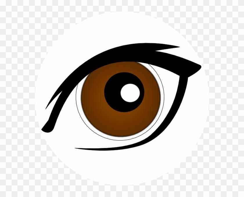 Brown Eyes Clipart - Eye Clip Art #20247