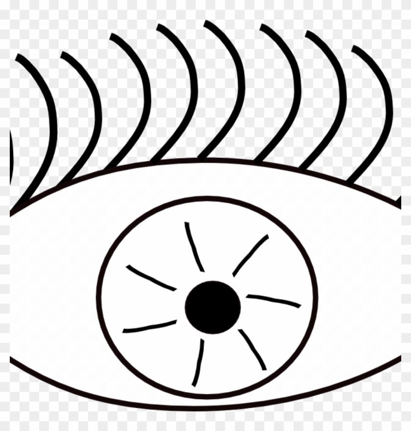 Eyes Clipart Black And White Eye Clip Art Black And - Eye Clip Art #20249