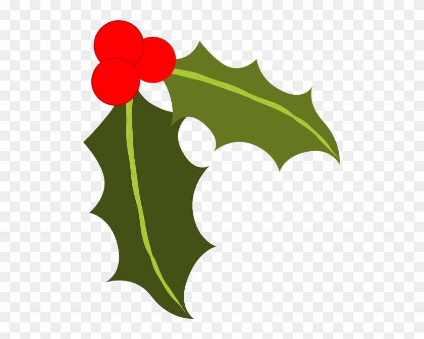 Christmas Holly - Holly Silhouette Png #20251