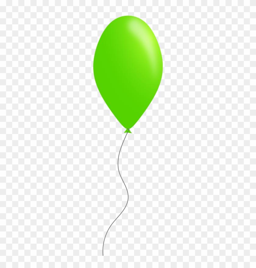 Green - Balloon - Clipart - Green - Balloon - Clipart #20278