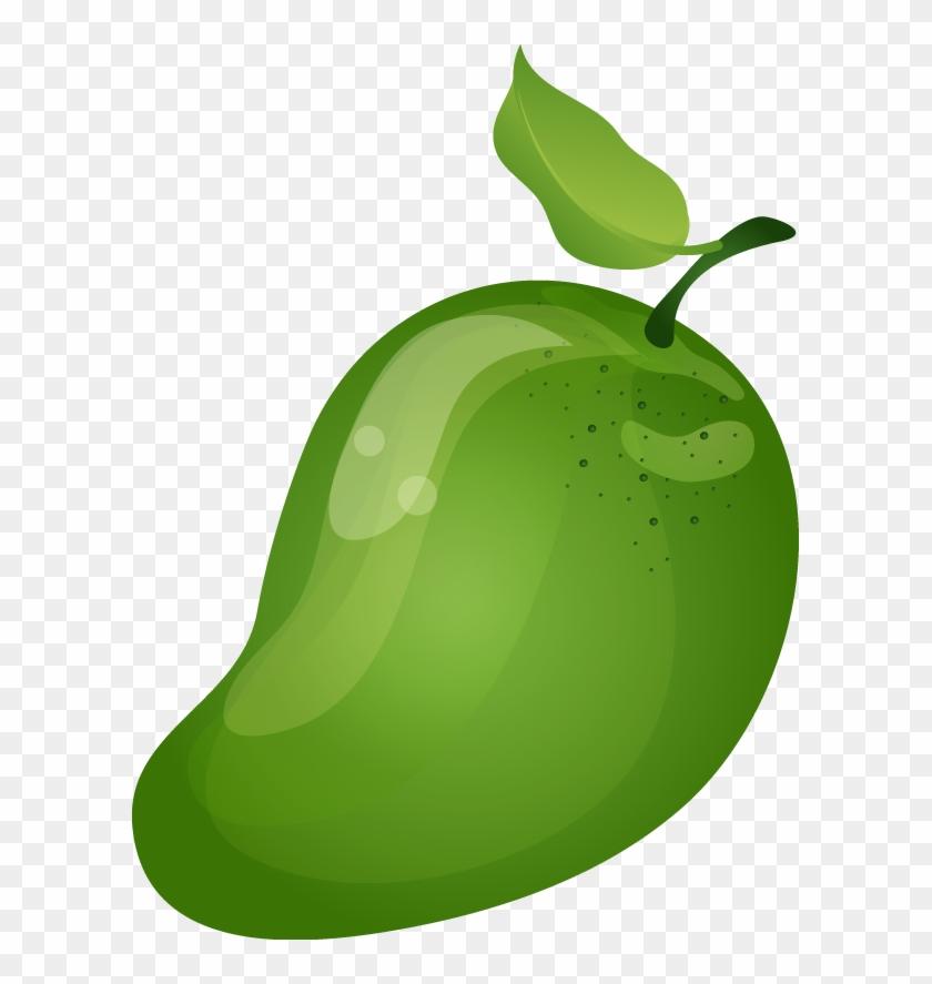 Mango Clipart Png - Mango Green Clip Art #20290