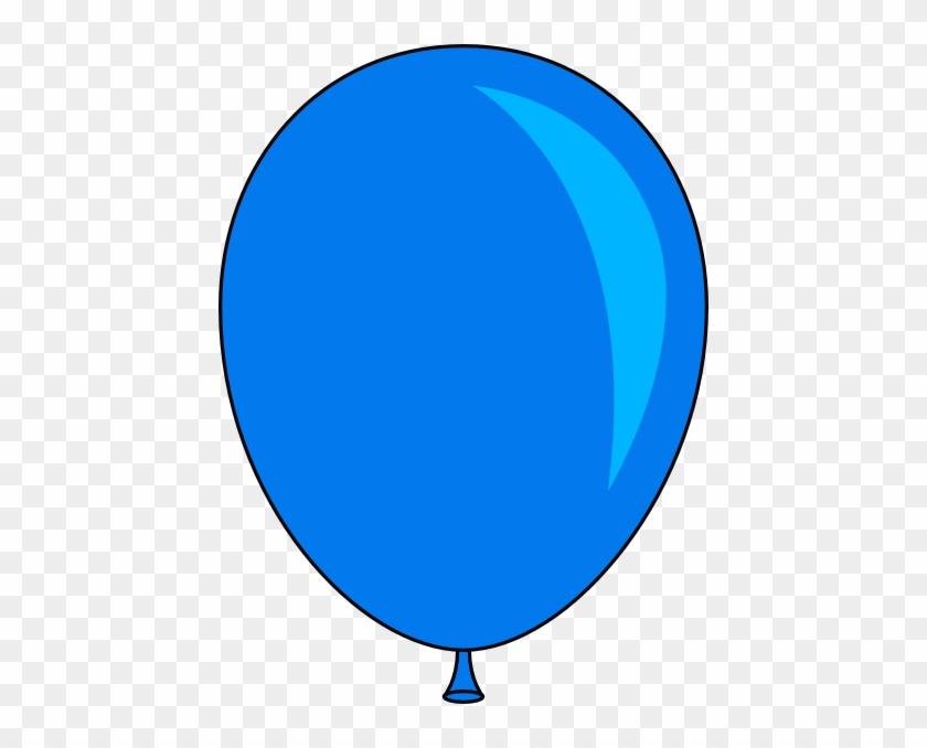Blue Balloons Clipart Balloon Clip Art At Clker Com - Blue Balloon Clipart #20297