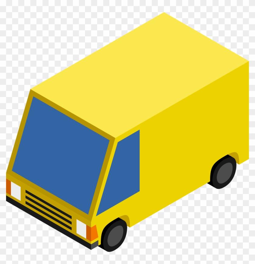Big Image - Isometric Van #20313