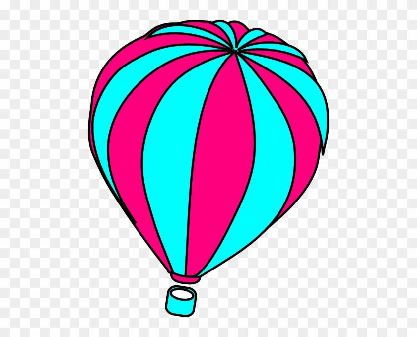 Hot Air Balloon Black And White Hot Air Balloon Clip - Hot Air Balloon Clip Art #20318