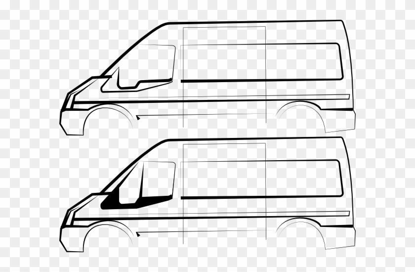 Ford Transit Van Vector #20319