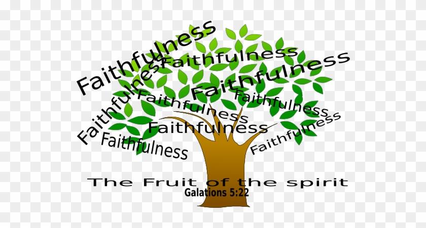 Faithfulness Tree Clip Art At Clker - Self Control Clip Art #20320