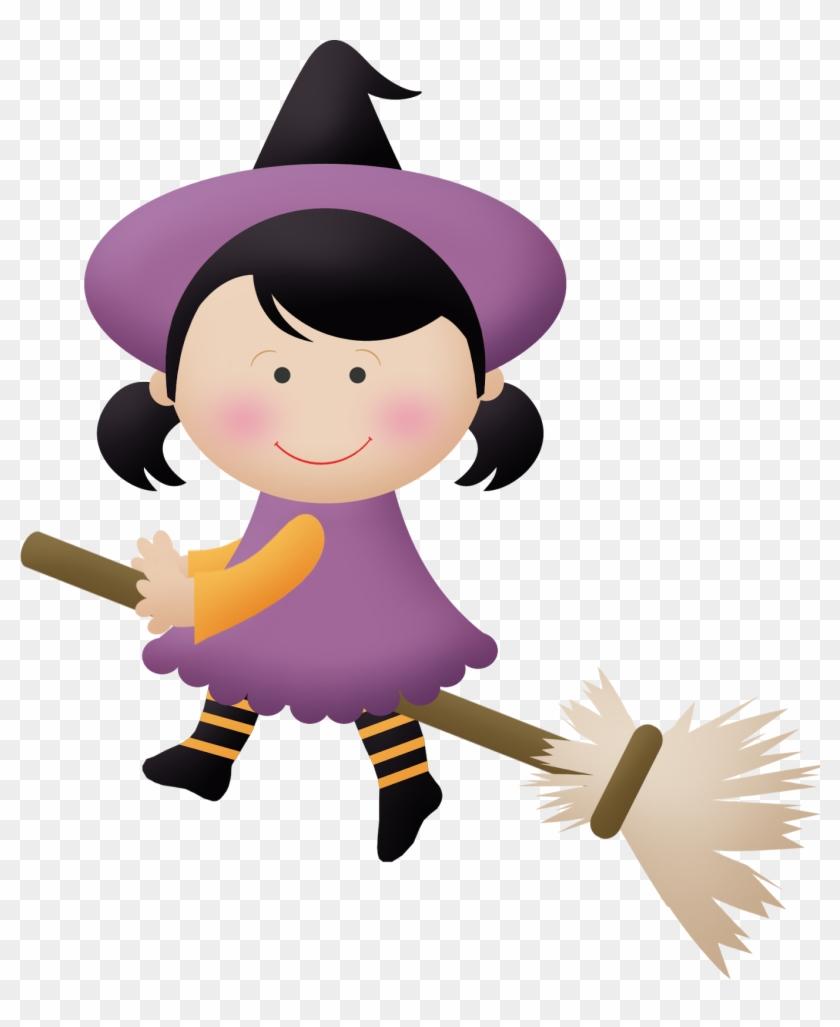 Travessuras Da Van - Bruxinhas Para Halloween Png #20325