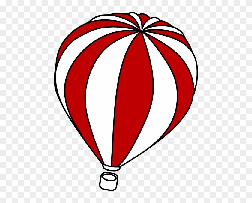 Hot Air Balloon Clip Art - Hot Air Balloon Clipart Outline #20348