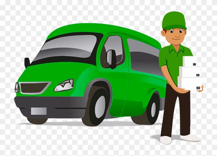 Man And Van Portsmouth - Man With Van Cartoon #20351