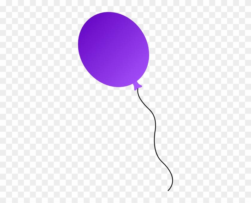 Purple Balloon Clipart - Purple Clip Art Balloons #20358